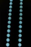 blått halsband Fotografering för Bildbyråer