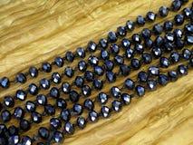 blått halsband Royaltyfri Bild
