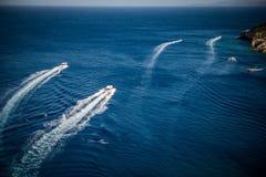 blått hav Royaltyfria Bilder
