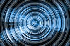 blått hypnotiskt för abstrakt bakgrund stock illustrationer