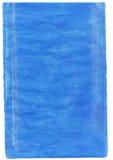 blått inked bokstavsark Royaltyfria Bilder