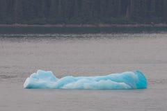 Blått isberg i Alaska Arkivfoton