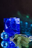 blått jordklot Royaltyfri Foto