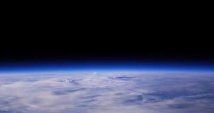 blått jordplanet Royaltyfri Foto
