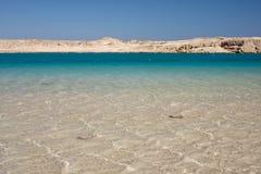 blått kallt egypt havsvatten arkivbild