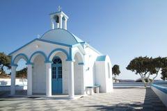 blått kapell royaltyfri fotografi