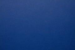 Blått konstgjort läder Royaltyfri Fotografi