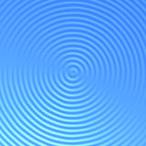 blått krusningsvatten Arkivbilder