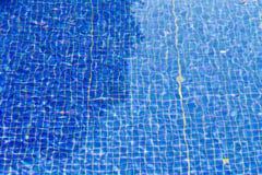 blått krusningsvatten Arkivfoto