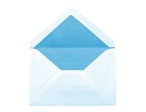 blått kuvert Arkivbilder