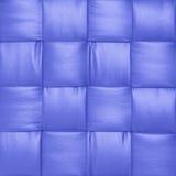 Blått läder arkivfoton