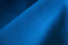 blått läder Fotografering för Bildbyråer