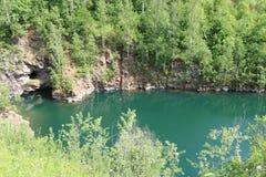Blått Lake Royaltyfria Foton