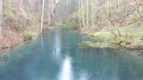 Blått Lake Royaltyfri Bild