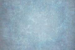 Blått målad kanfas- eller muslinbakgrund royaltyfri fotografi