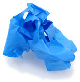 blått målareband Arkivbilder