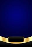 blått mörkt lyxigt för bakgrund royaltyfri illustrationer