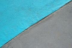 Blått och grå färger texturerade yttersida av asfalt för abstrakt bakgrund Royaltyfria Bilder