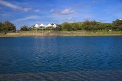 Blått och rent vatten Fotografering för Bildbyråer