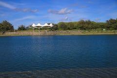 Blått och rent vatten Royaltyfria Bilder