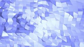 Blått polygonal geometriskt vibrerande miljö eller pulserar stock illustrationer