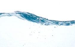 blått rörelsevatten Arkivbilder