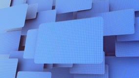 blått raster Arkivbild