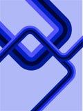 blått retro för abstrakt bakgrund royaltyfri illustrationer