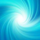 Blått rotationsvatten. EPS 8 Royaltyfria Bilder