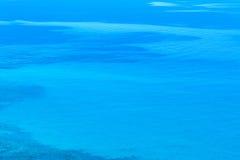blått sardinia hav Arkivbild