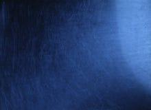 blått scratchy Arkivfoto