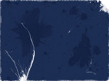blått smutsigt papper Fotografering för Bildbyråer
