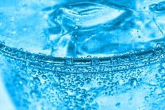 blått sodavatten arkivbild