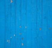 blått staket Arkivbilder