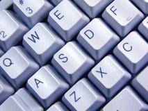 blått tangentbord Arkivfoto