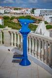 blått teleskop Royaltyfri Bild