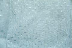 Blått texturerad torkduk Royaltyfri Bild