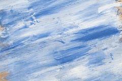 blått texturwhiteträ Royaltyfri Bild