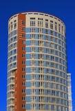 blått torn Arkivfoto