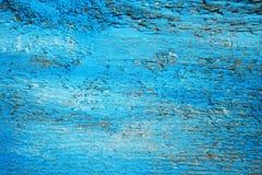 blått trä för bakgrund Arkivbilder