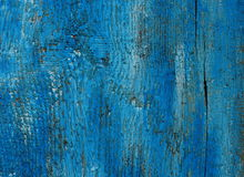blått trä för bakgrund Royaltyfria Bilder
