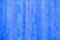 Blått träbrädeabstrakt begrepp royaltyfri illustrationer
