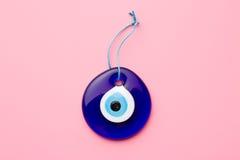 Blått turkiskt öga Arkivfoto
