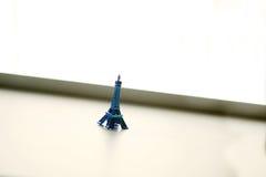 Blått turnerar Eiffel Arkivbild