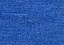 blått tyg Arkivbild