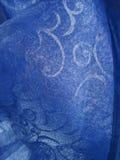 Blått tyg Arkivfoton