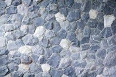 Blått vagga textur för bakgrundsbeståndsdel Arkivfoto