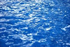 blått vatten arkivbild