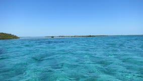 blått vatten Arkivfoton