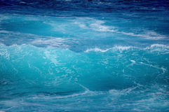 blått vatten arkivbilder